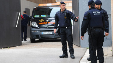 politist spania politie - GettyImages - 24 august 2015