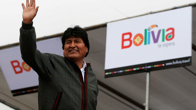 Evo Morales GettyImages-462044223