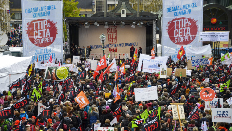 protest ttip germania GettyImages-523508268