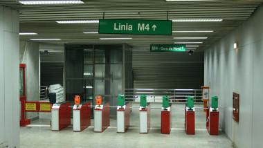 metrorex metrou intrare metrou linia m4 1
