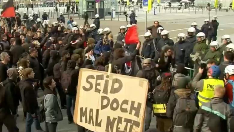 lupte germania extremisti
