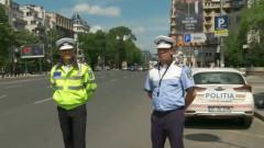 politisti rutiera strada