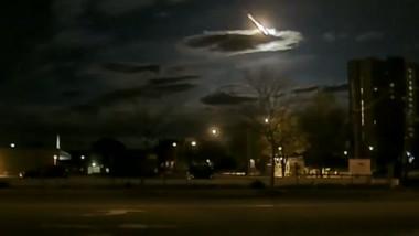 cadere meteorit