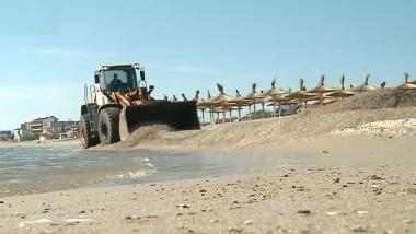vama buldozer plaja