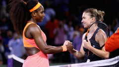serena williams simona halep GettyImages-468432692