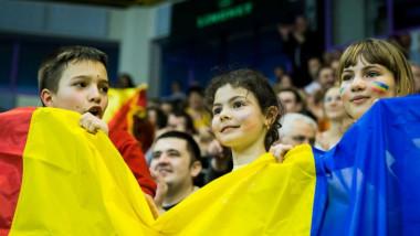 copii nationala fani suporteri fotbal