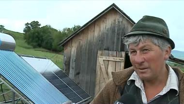 cioban panou solar