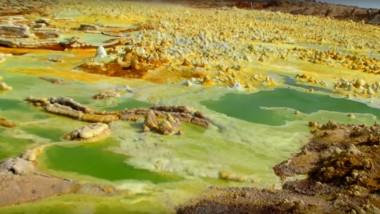 desert danakil vulcan