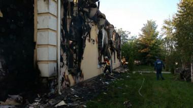 incendiu azil ucraina