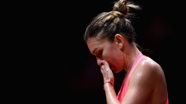 simona halep suparata - getty