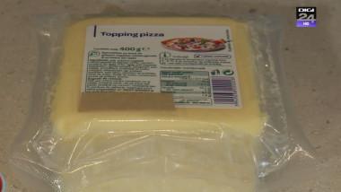 topping de pizza alimente cu E-uri