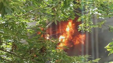 incendiu Billa Oradea 210516