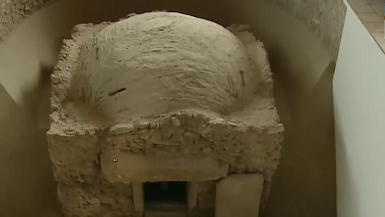 monument paleocrestin cripta tulcea