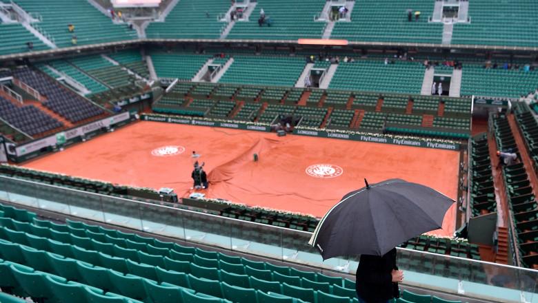 Roland Garros ploaie GettyImages-535763034