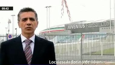 Român stabilit în Torino: Stadionul Juventus a costat 150 de miliioane de euro, Arena Naţională cu 100 de milioane mai mult şi e de trei ori mai mică