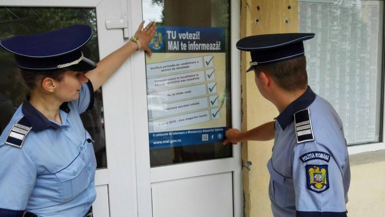 MAI campanie vot politie FB-1