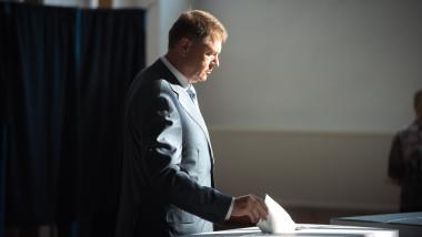 iohannis voteaza - presidency