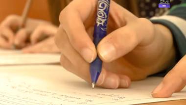 elevi maini lucrare jurnal pentru copii crop