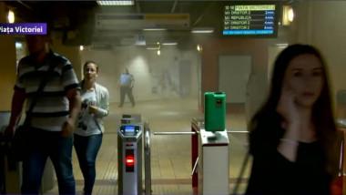 metrou incendiu