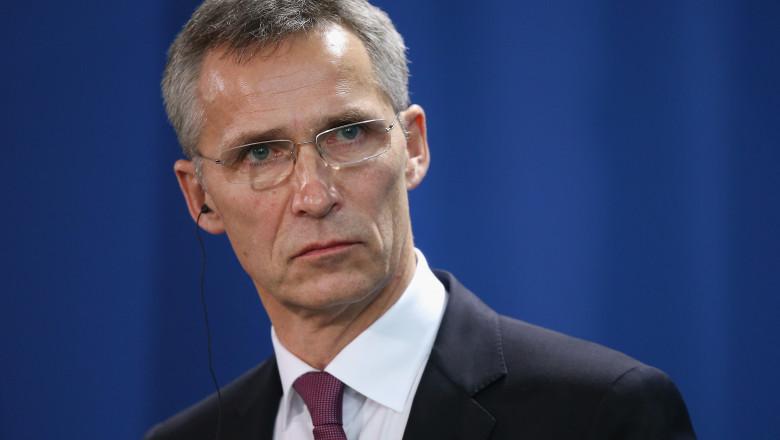 Jens Stoltenberg, secretarul general NATO