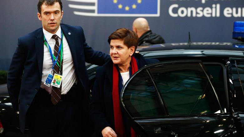 GettyImages-Beata Szydlo premier Polonia