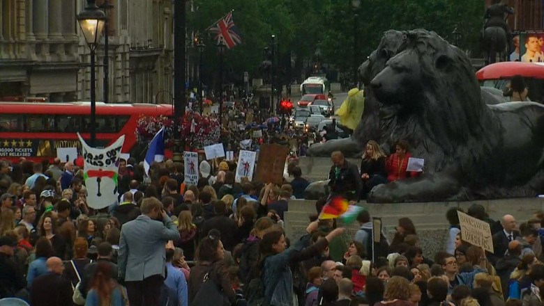 protest londra captura