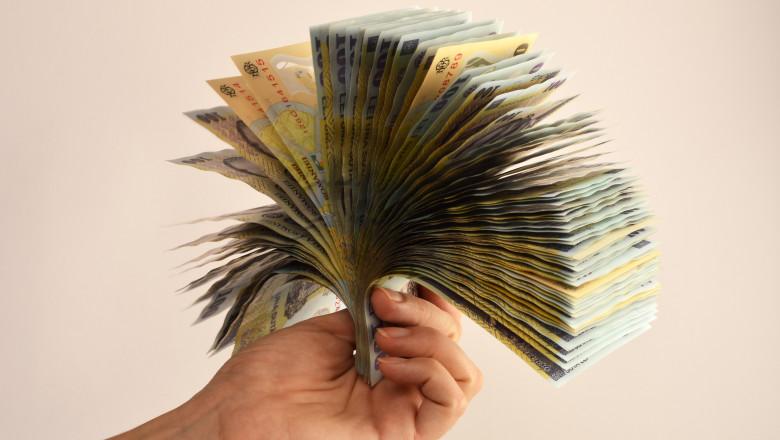 Bancnote lei agerpres 7699904-1