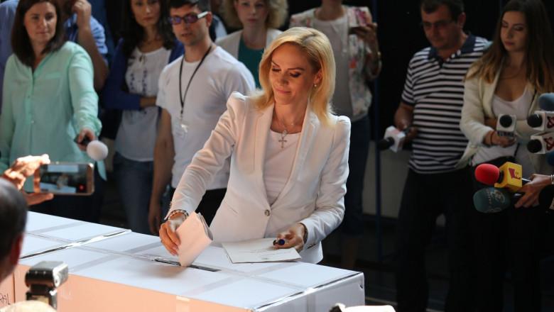 gabriela firea voteaza digi24