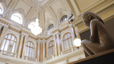 Cumintenia pamantului in muzeul BNR INQUAM Octav Ganea 1 -1