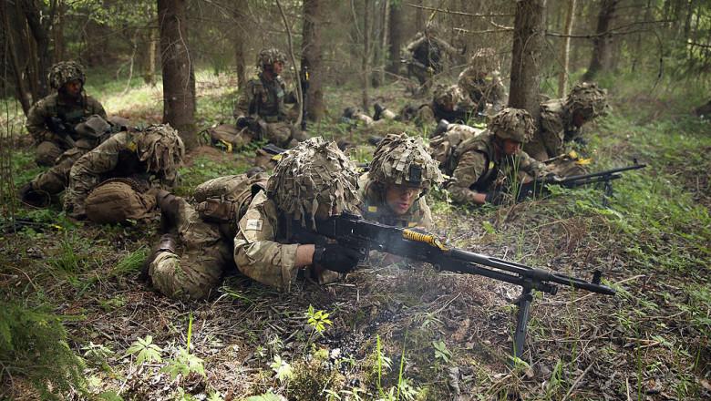 Exercitiu militari NATO GettyImages-491925083