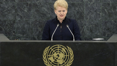 Dalia Grybauskaite - Guliver GettyImages
