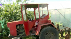 tractor homemade
