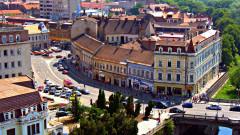 Oradea Centrul Istoric Palatul Levay si Palatul Poynar