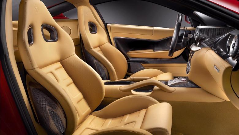 Luxury Car Ferrari Interior and Seat Images 1