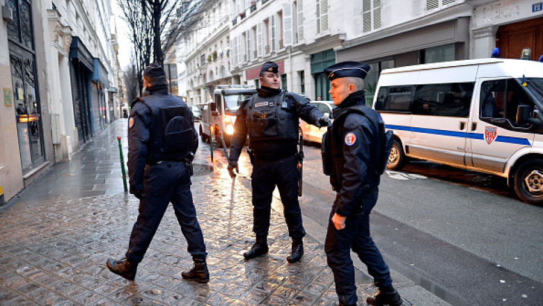 politie franta getty