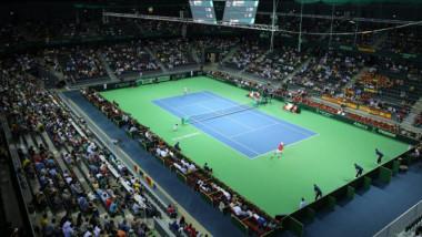 tenis cluj sala polivalenta teren 1-1