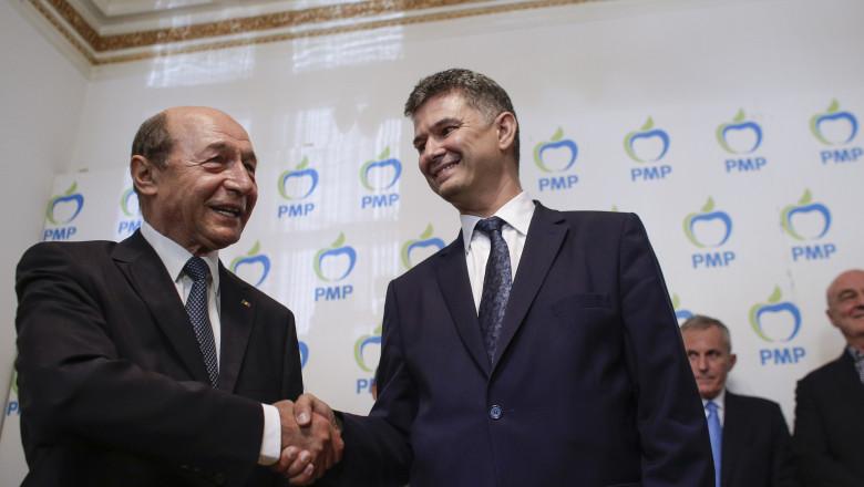 fuziune PMP UNPR Basescu Steriu 1 INQUAM Octav Ganea