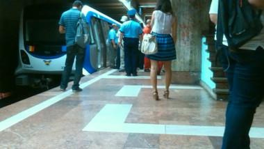 circulatie ingreunata metrou