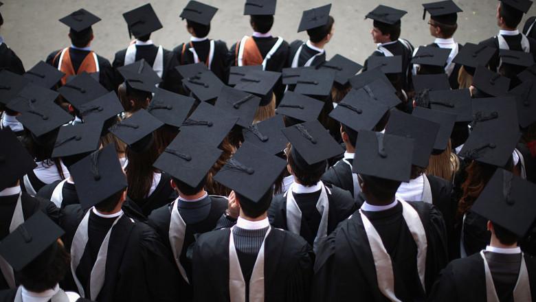 Absolventi universitate Marea Britanie GettyImages-119024674
