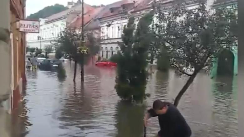 inundatie sighisoara