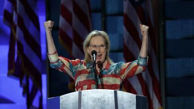 VIDEO. Meryl Streep, discurs pasionant în sprijinul lui Hillary Clinton
