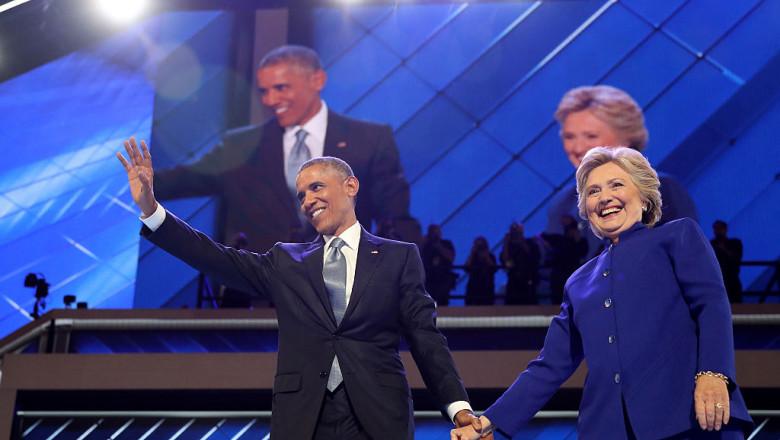 hillary clinton barack obama - getty