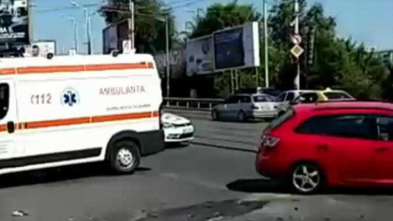 accident baneasa