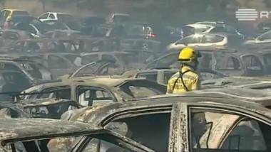 incendiu masini
