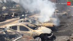 masini incendiate captura