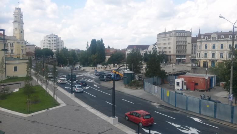 trafic centru Oradea luni 150816