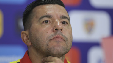 Soccer Football - Euro 2020 Qualifier - Romanian Press Conference
