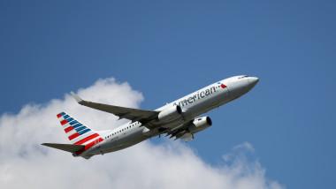 Airplane Traffic At JFK Airport in New York
