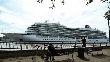 Viking Cruise Ship Prepares For Longest World Cruise Journey