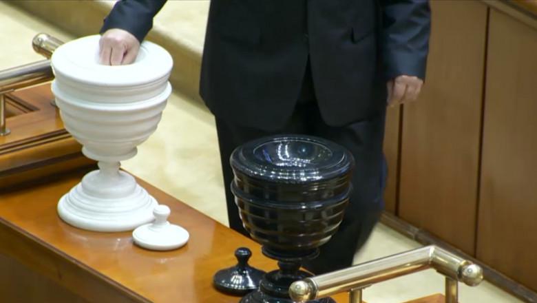 urne bile vot parlament